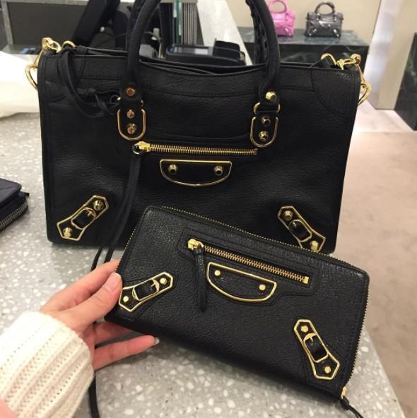 กระเป๋าบาลองมือสอง